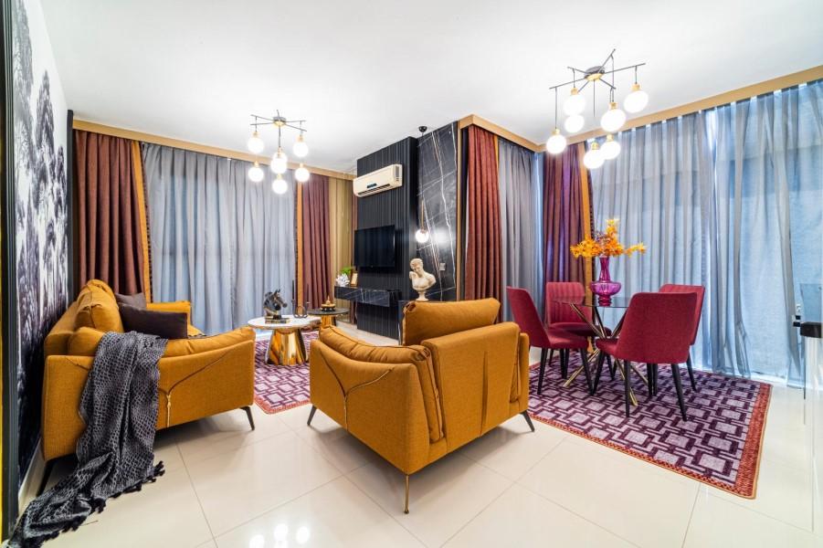 Уютная меблированная квартира 1+1 в роскошном жилом комплексе с инфраструктурой - Фото 24