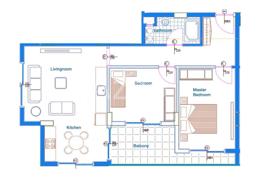 Квартиры в новом комплексе в Махмутларе - Фото 18