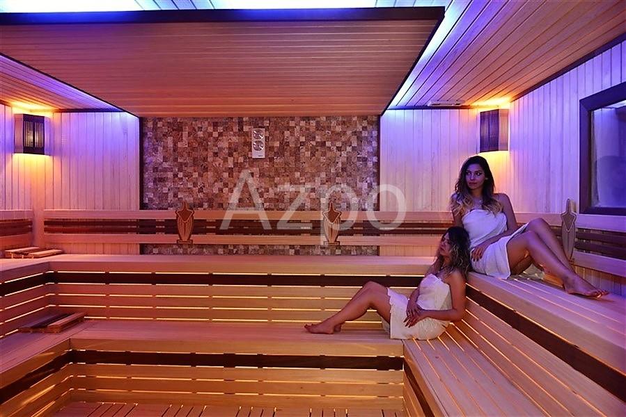 Квартира 1+1 в шикарном комплексе в Конаклы - Фото 21