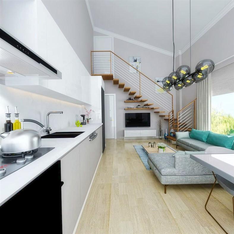 Двухкомнатные квартиры в новом комплексе Фетхие - Фото 3