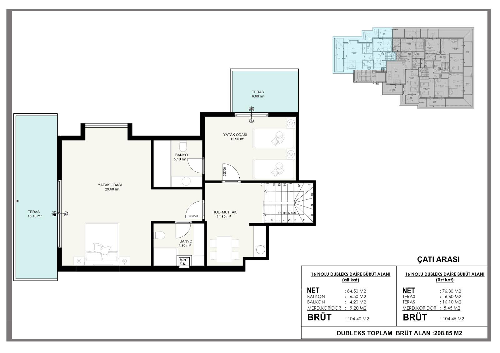 Новые квартиры в центральном районе Аланьи - Фото 10