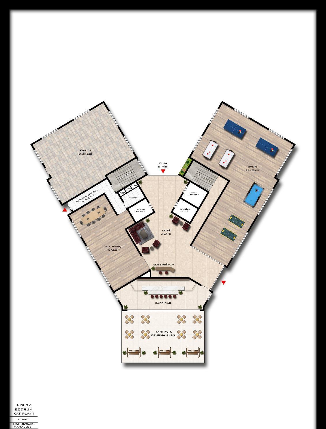 Квартиры и пентхаусы в комплексе с богатой инфраструктурой район Махмутлар - Фото 22