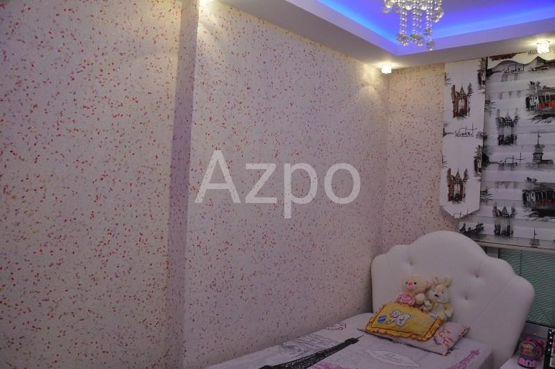 Трехкомнатная меблированная квартира в центре Аланьи - Фото 18