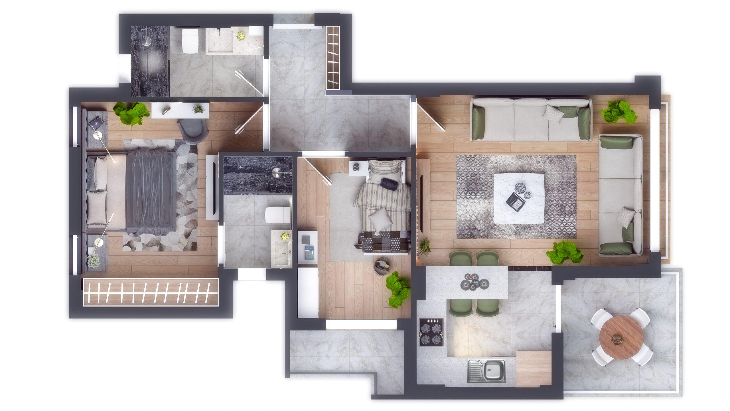 Современные квартиры в элитном комплексе Антальи - Фото 42