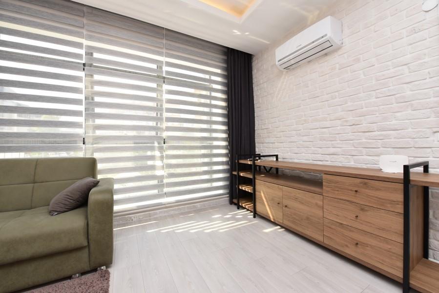 Двухкомнатная квартира с мебелью в центре Аланьи - Фото 12