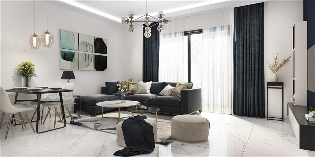 Двухкомнатная квартира в новом комплексе район Оба - Фото 14