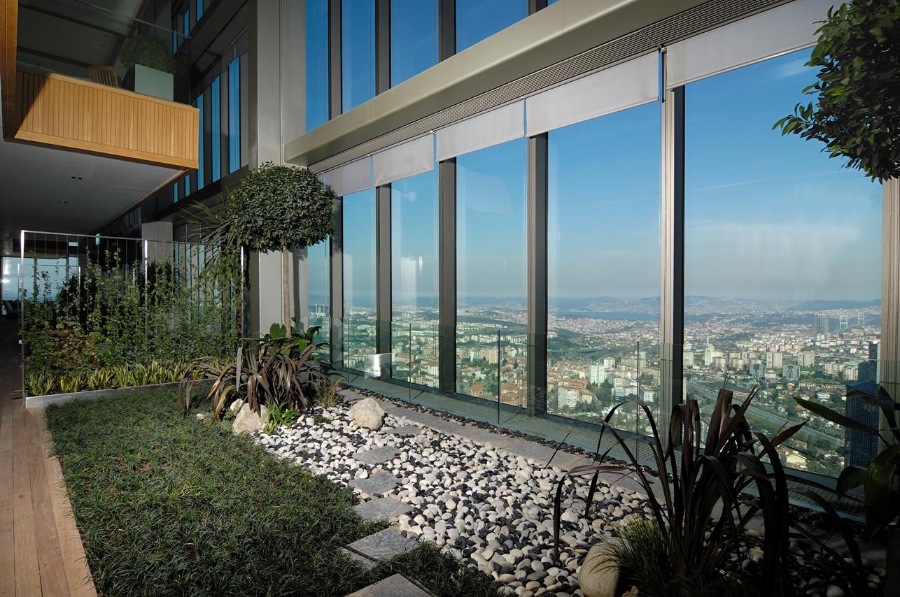Элитная квартира в  высоком небоскребе Стамбула - Фото 5