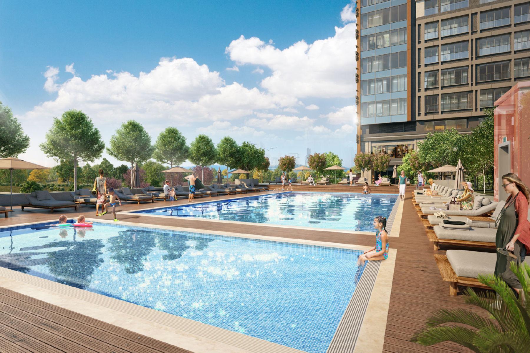 «Умные» квартиры в новом жилом комплексе Стамбула - Фото 19