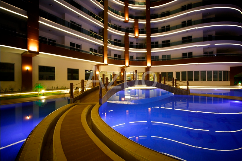Двухкомнатная квартира в комплексе LUX класса Махмутлар - Фото 10