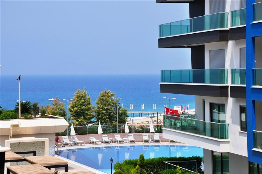 Меблированная квартира 2+1 с видом на Средиземное море - Фото 3