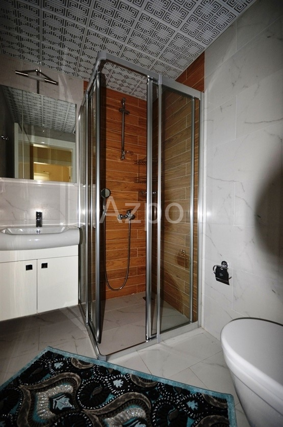Квартира-дуплекс в благоустроенном комплексе в центре Аланьи - Фото 26