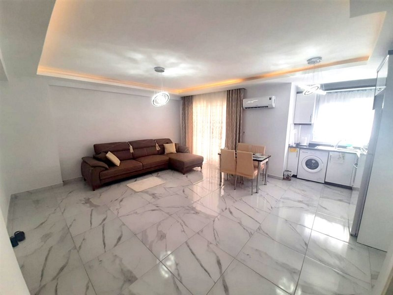 Двухкомнатная квартира с мебелью в центре Махмутлара - Фото 12
