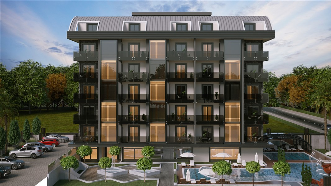 Квартиры в строящемся элитном комплексе в районе Каргыджак - Фото 9