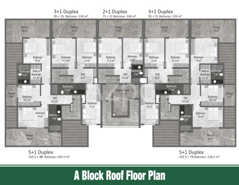 Квартиры и пентхаусы в новом комплексе Оба - Фото 16
