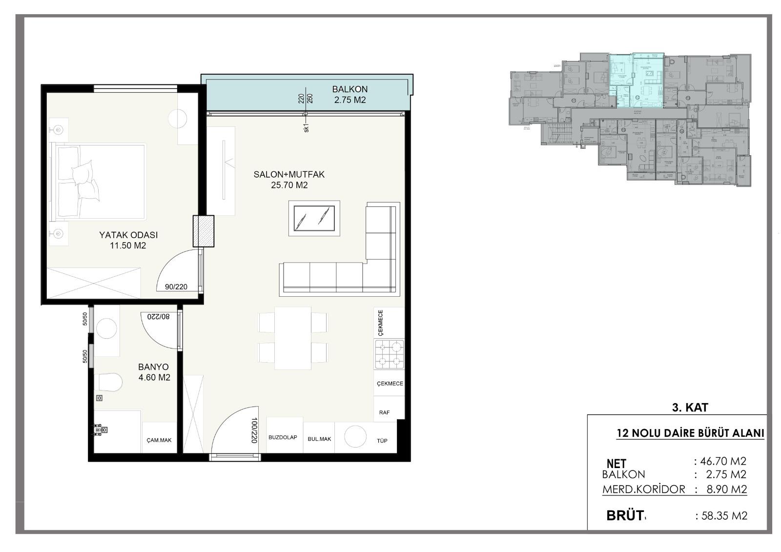 Новые квартиры в центральном районе Аланьи - Фото 6
