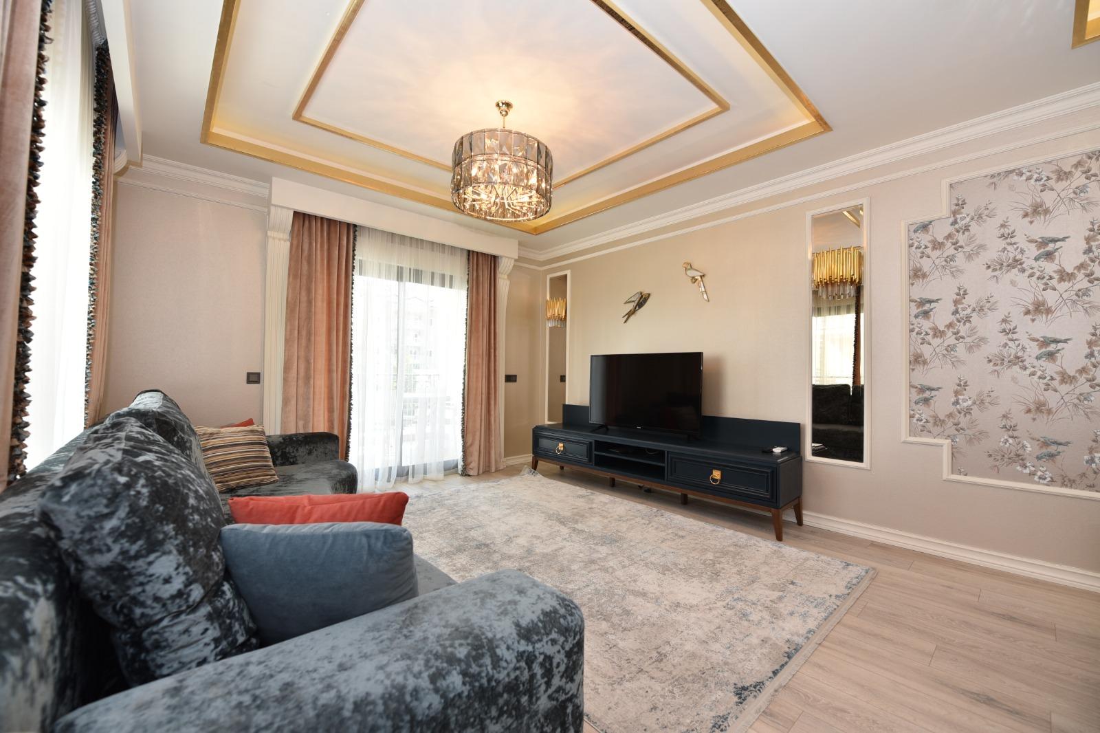 Роскошная трёхкомнатная квартира с мебелью - Фото 14