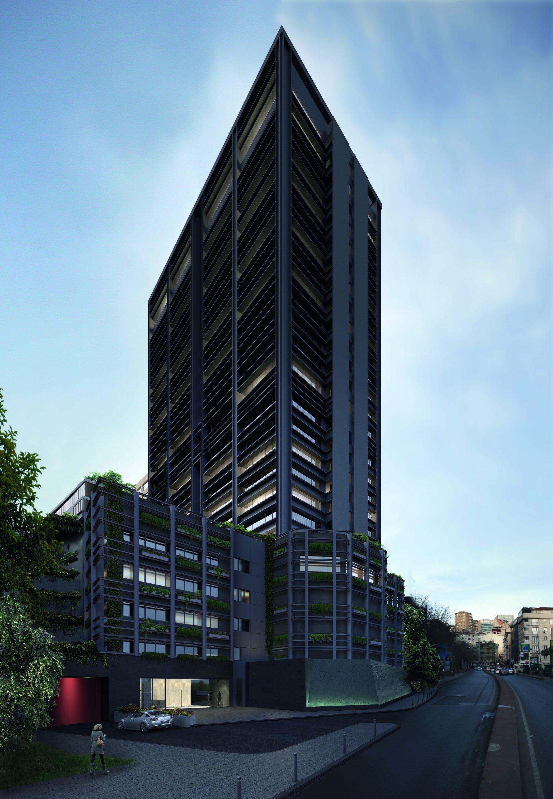 Интересный  инвестиционный проект в центре Стамбула