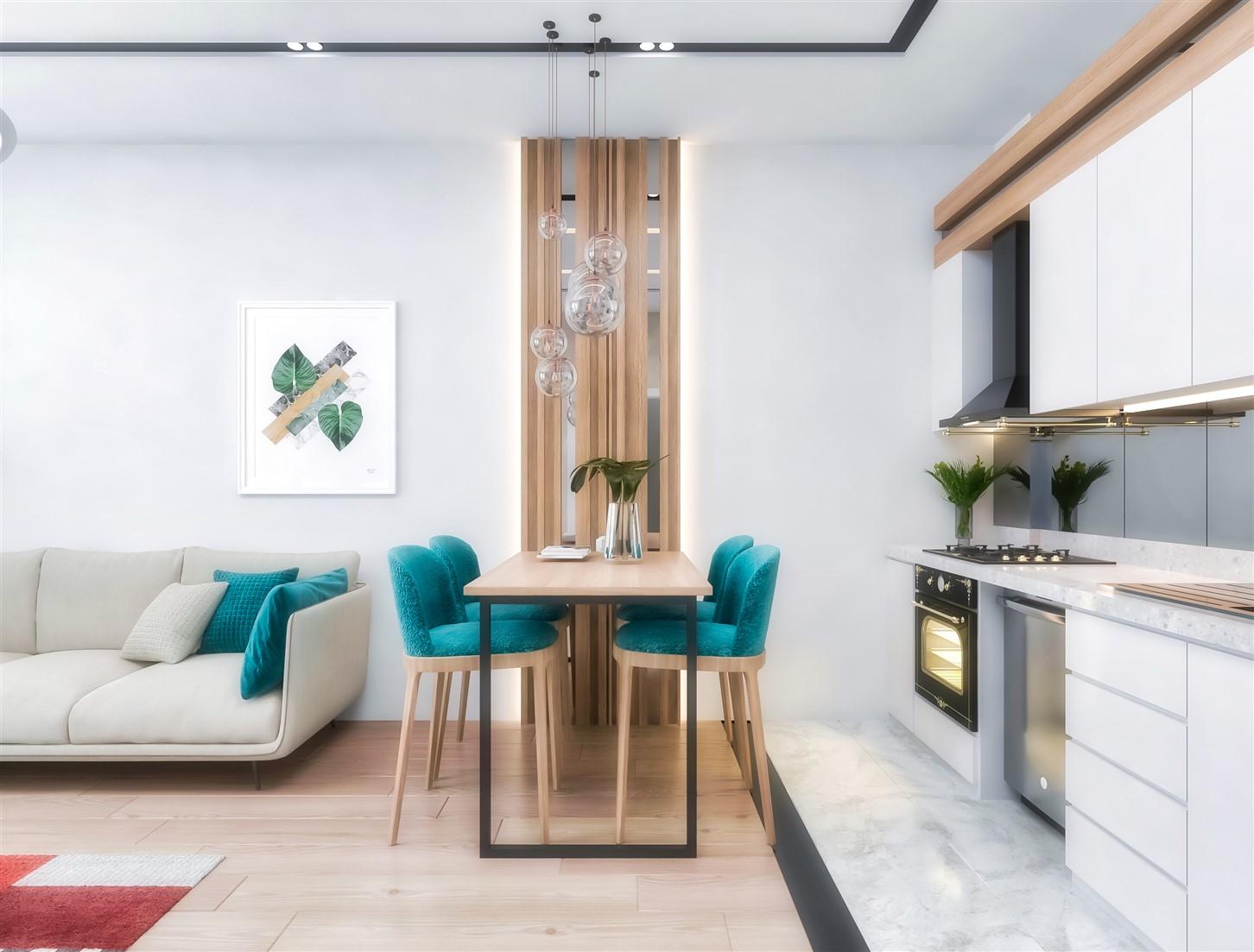Современные квартиры в элитном комплексе Антальи - Фото 60