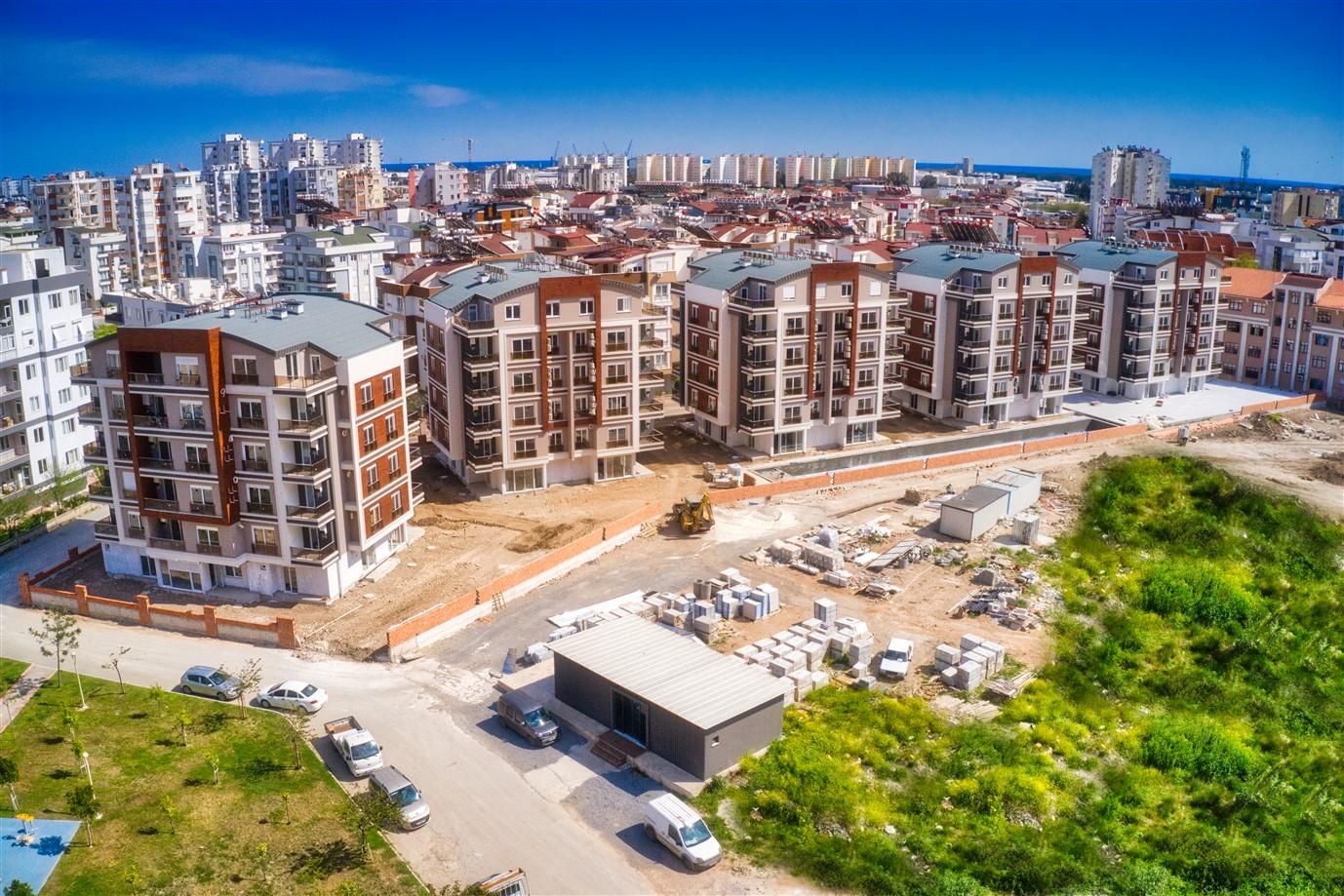 Новая двухкомнатная квартира в районе Коньяалты - Фото 1
