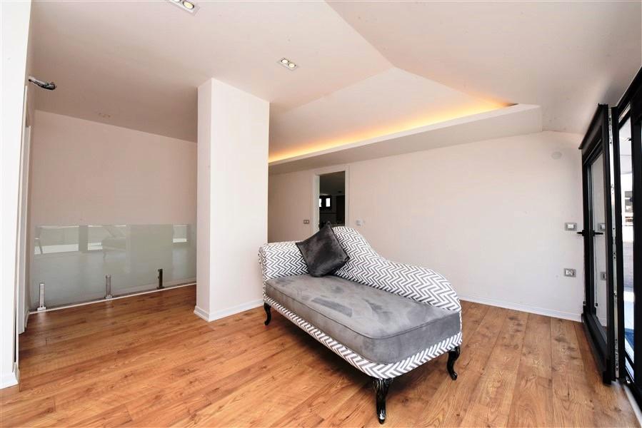 Роскошный пентхаус 4+1 с мебелью в районе Оба - Фото 25