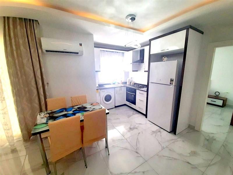 Двухкомнатная квартира с мебелью в центре Махмутлара - Фото 9