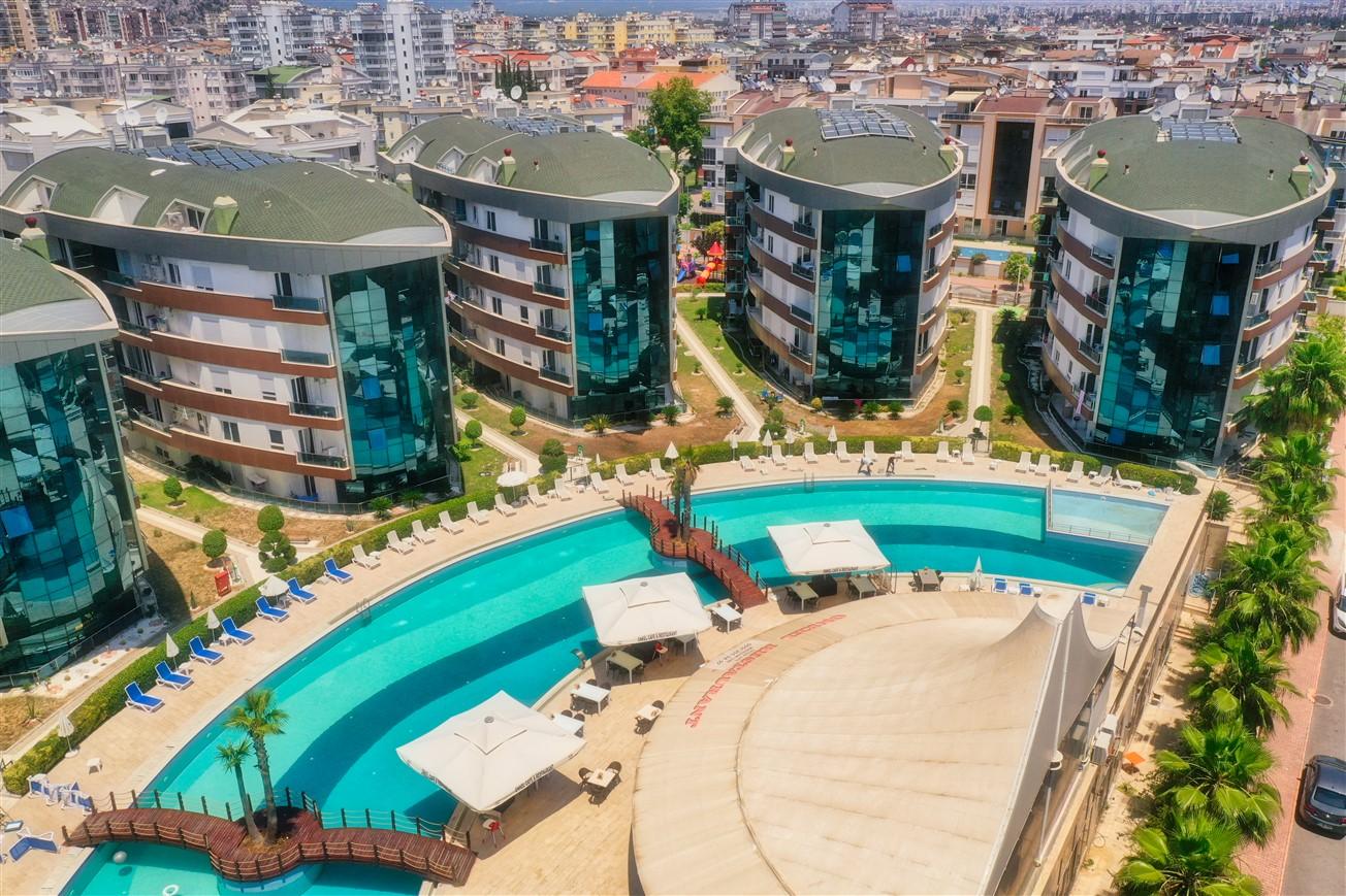 Двухкомнатная квартира с мебелью в элитном комплексе района Коньяалты - Фото 13