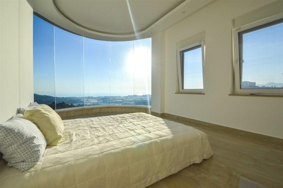 Шикарная трёхуровневая вилла 3+1 с потрясающим видом на Средиземное море - Фото 20