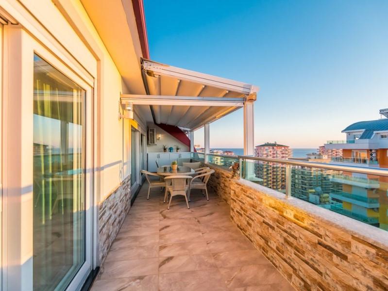 Меблированный пентхаус с видом на море - Фото 13
