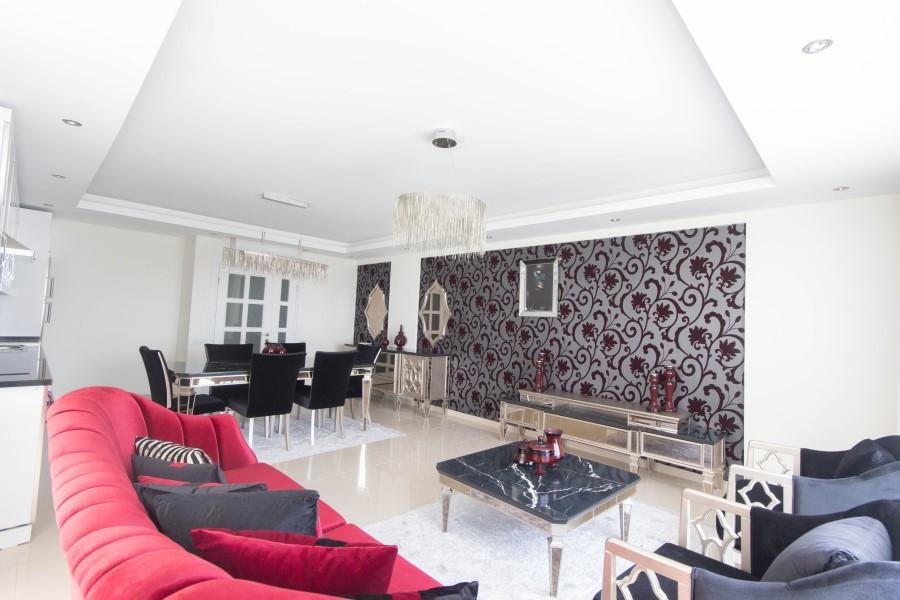 Просторные апартаменты 2+1 с мебелью - Фото 19
