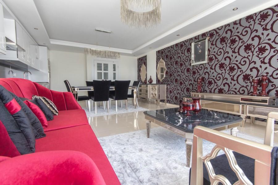 Просторные апартаменты 2+1 с мебелью - Фото 22