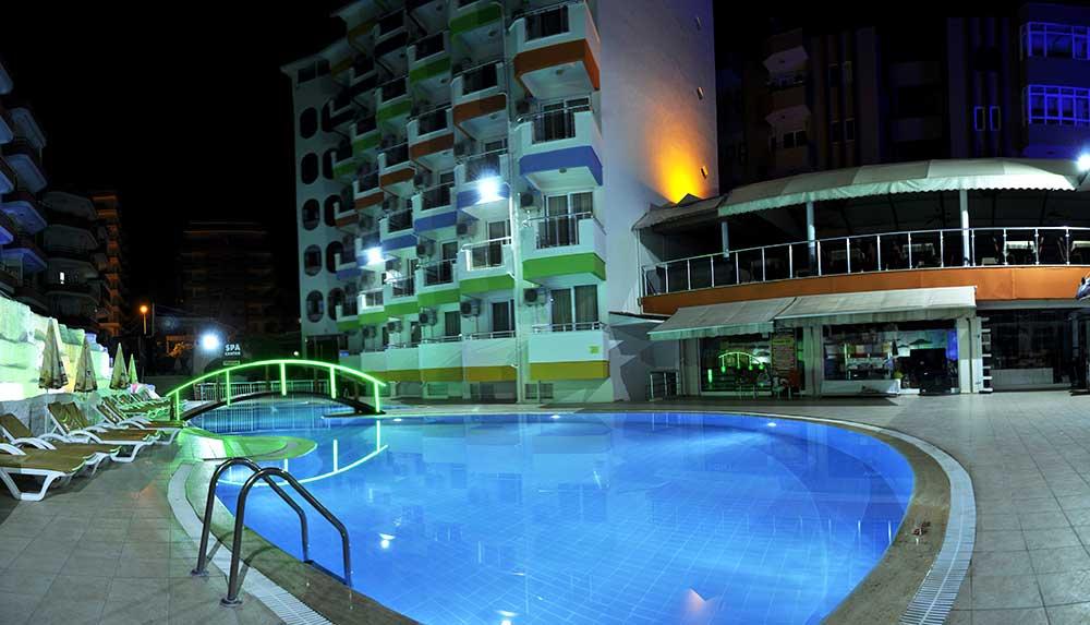 Отель на первой береговой линии в Махмутларе - Фото 42