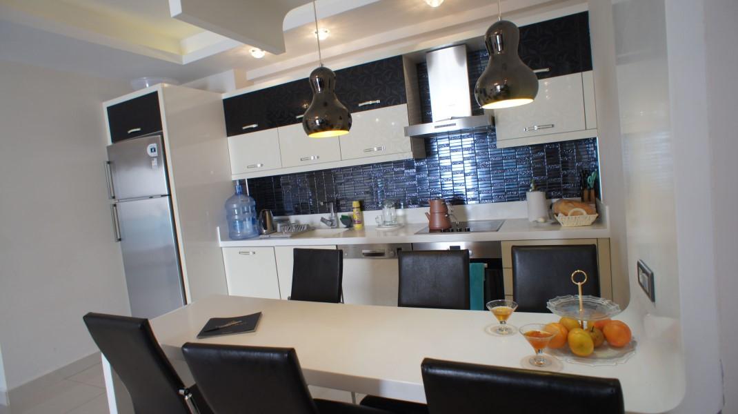 Меблированная квартира 2+1 в люкс комплексе - Фото 29