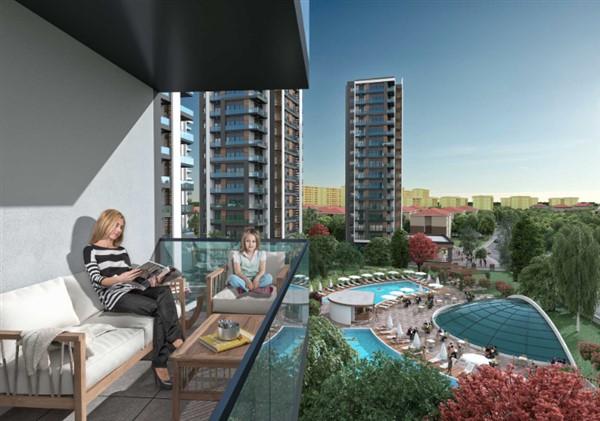 Квартиры в новом комплексе в районе Дошемеалты Анталия - Фото 9