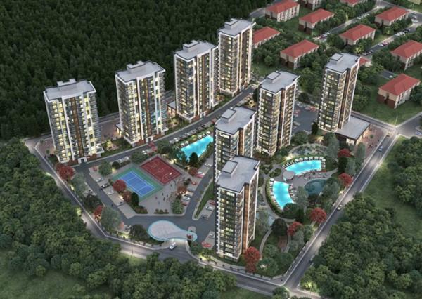 Квартиры в новом комплексе в районе Дошемеалты Анталия - Фото 11