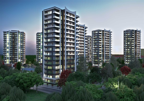 Квартиры в новом комплексе в районе Дошемеалты Анталия - Фото 14
