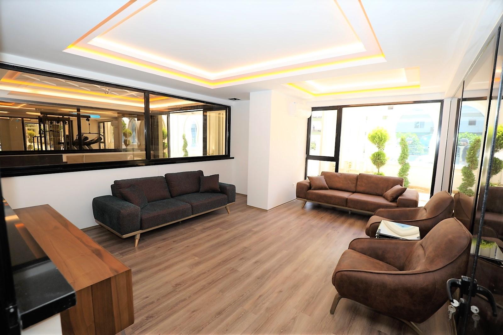 Апартаменты 1+1 в новом комплексе Махмутлар - Фото 16