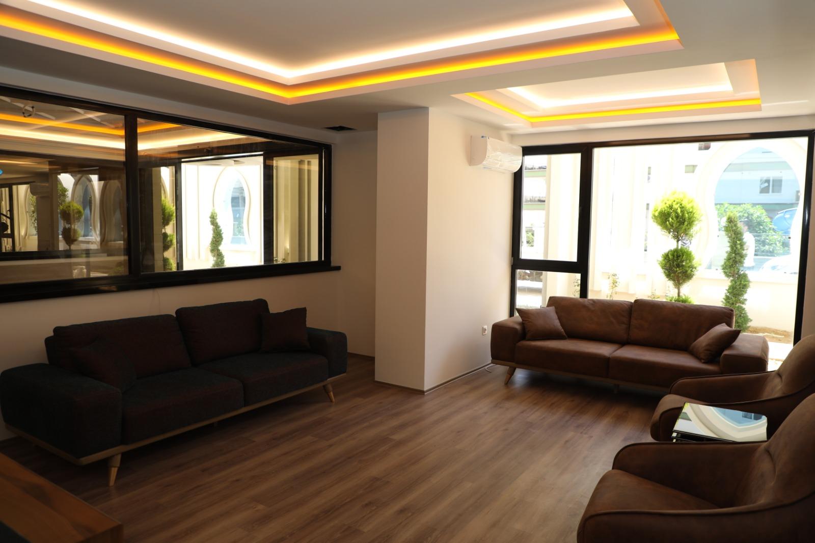 Апартаменты 1+1 в новом комплексе Махмутлар - Фото 17