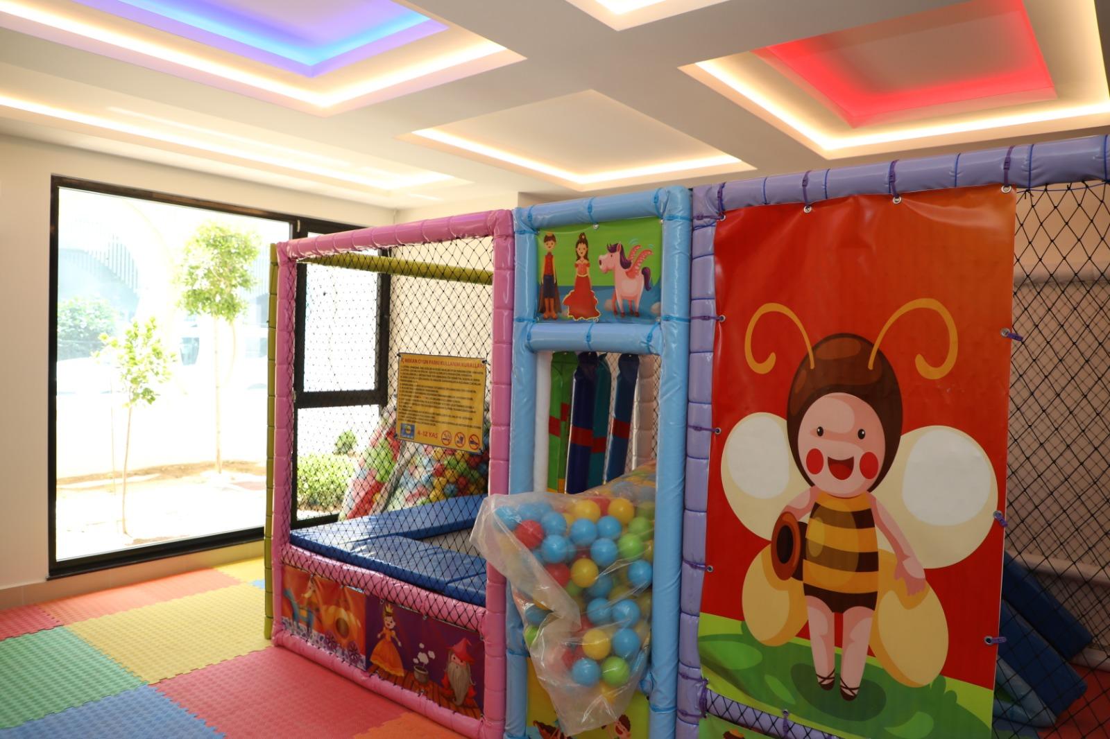 Квартира планировкой 1+1 в Махмутларе - Фото 25