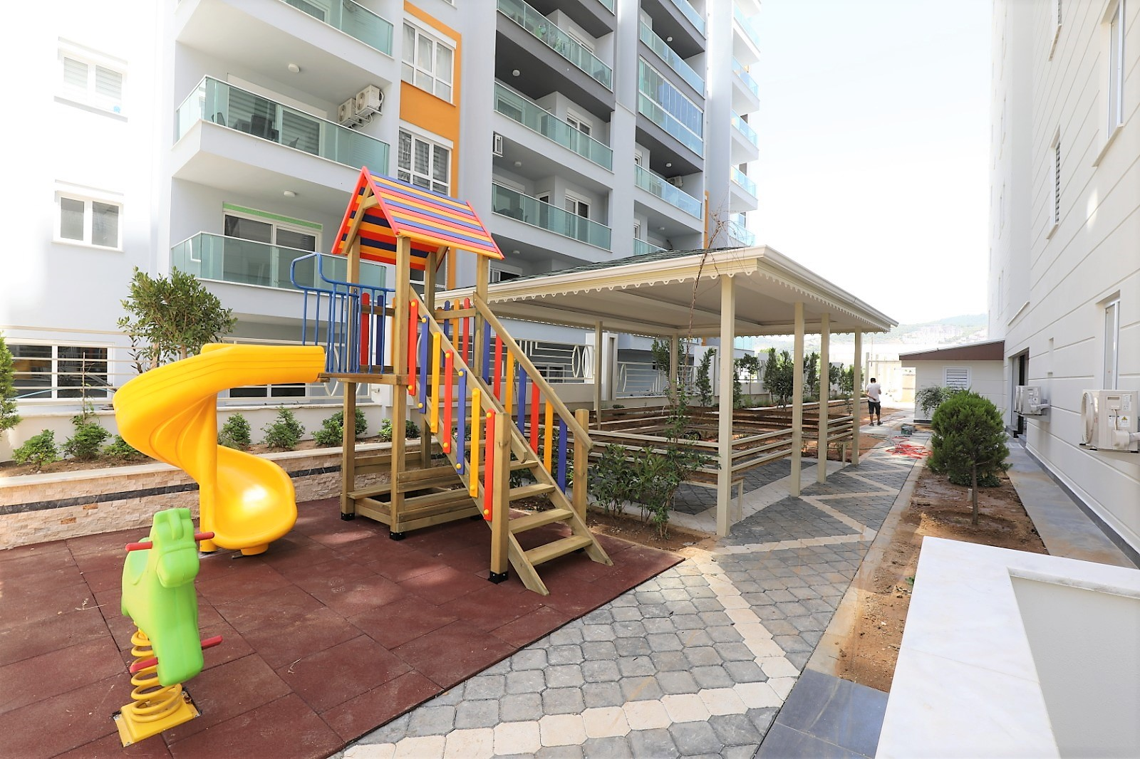 Апартаменты 1+1 в новом комплексе Махмутлар - Фото 20