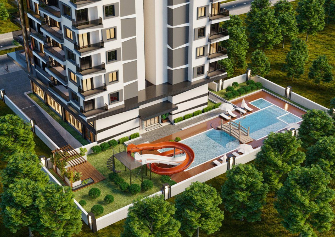 Апартаменты различных планировок в Махмутларе - Фото 1