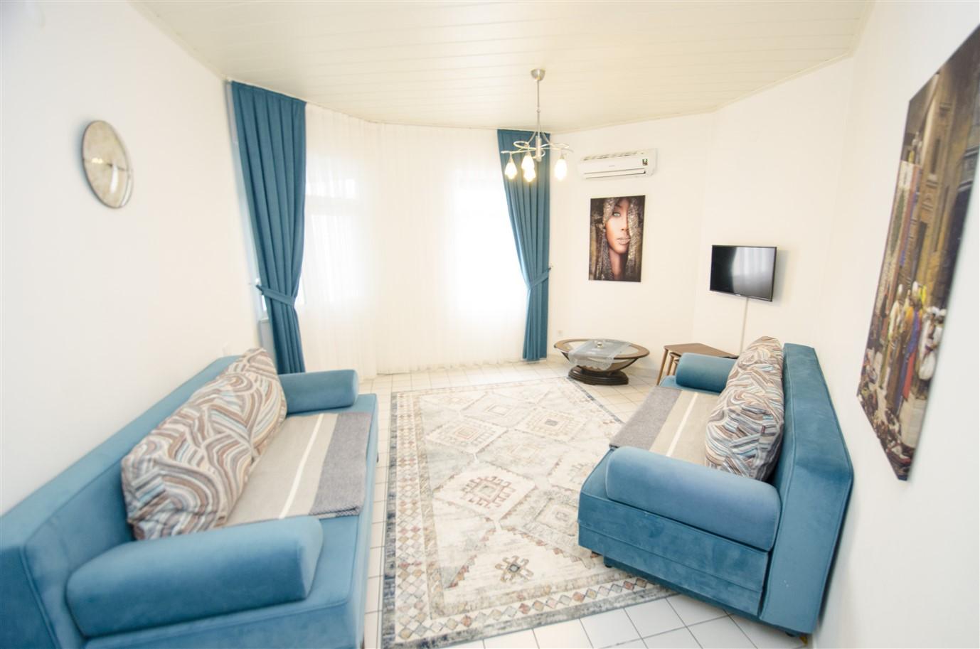Квартира 1+1 с мебелью в районе Лиман Коньяалты Анталия - Фото 4