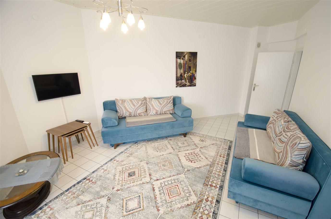 Квартира 1+1 с мебелью в районе Лиман Коньяалты Анталия - Фото 5