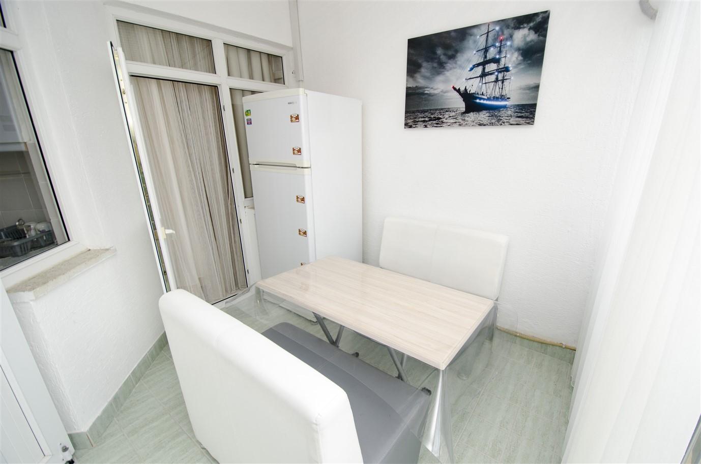 Квартира 1+1 с мебелью в районе Лиман Коньяалты Анталия - Фото 10