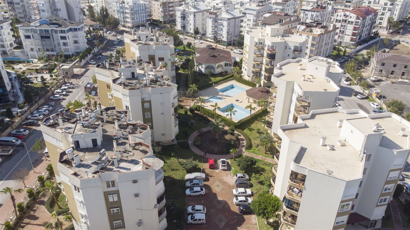 Квартира 1+1 с мебелью в районе Лиман Коньяалты Анталия - Фото 24