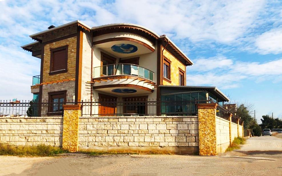 Вилла 4+1 в Нибелире Дошемеальты Анталья - Фото 9