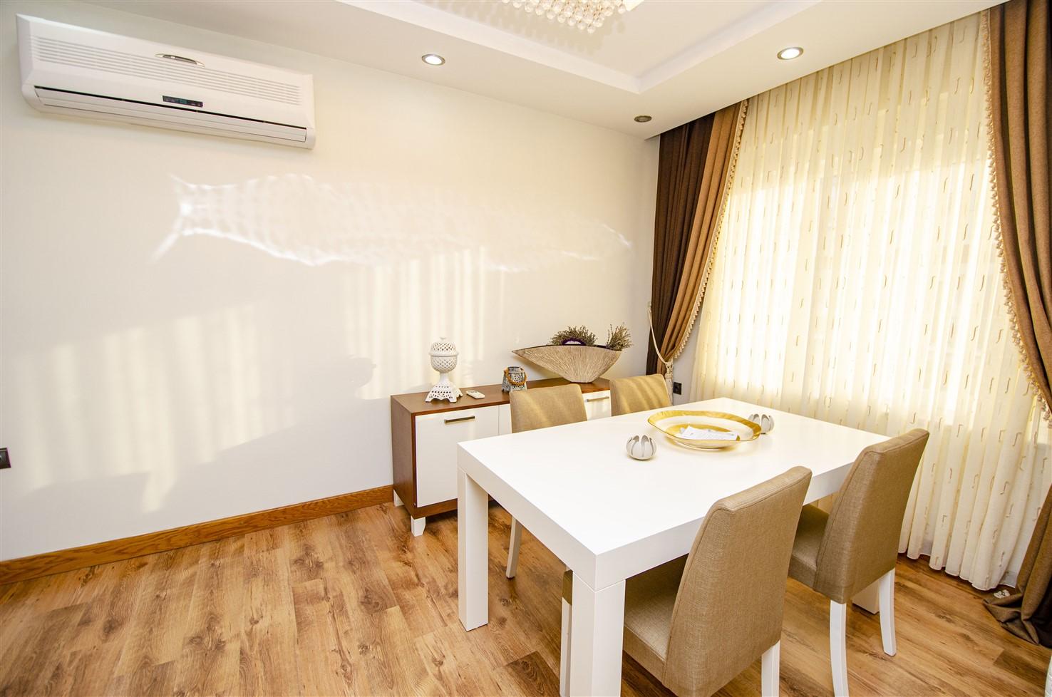 Квартира 3+1 с мебелью в 5 минутах от моря - Фото 29