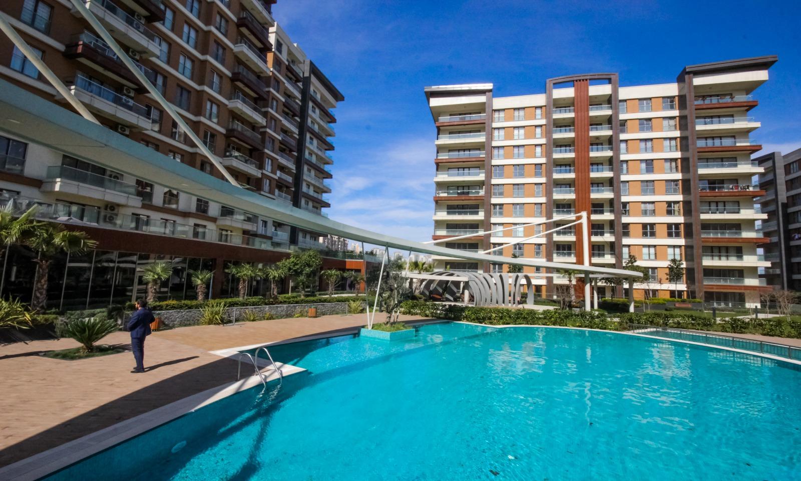 Апартаменты в жилом комплексе Стамбула - Фото 13