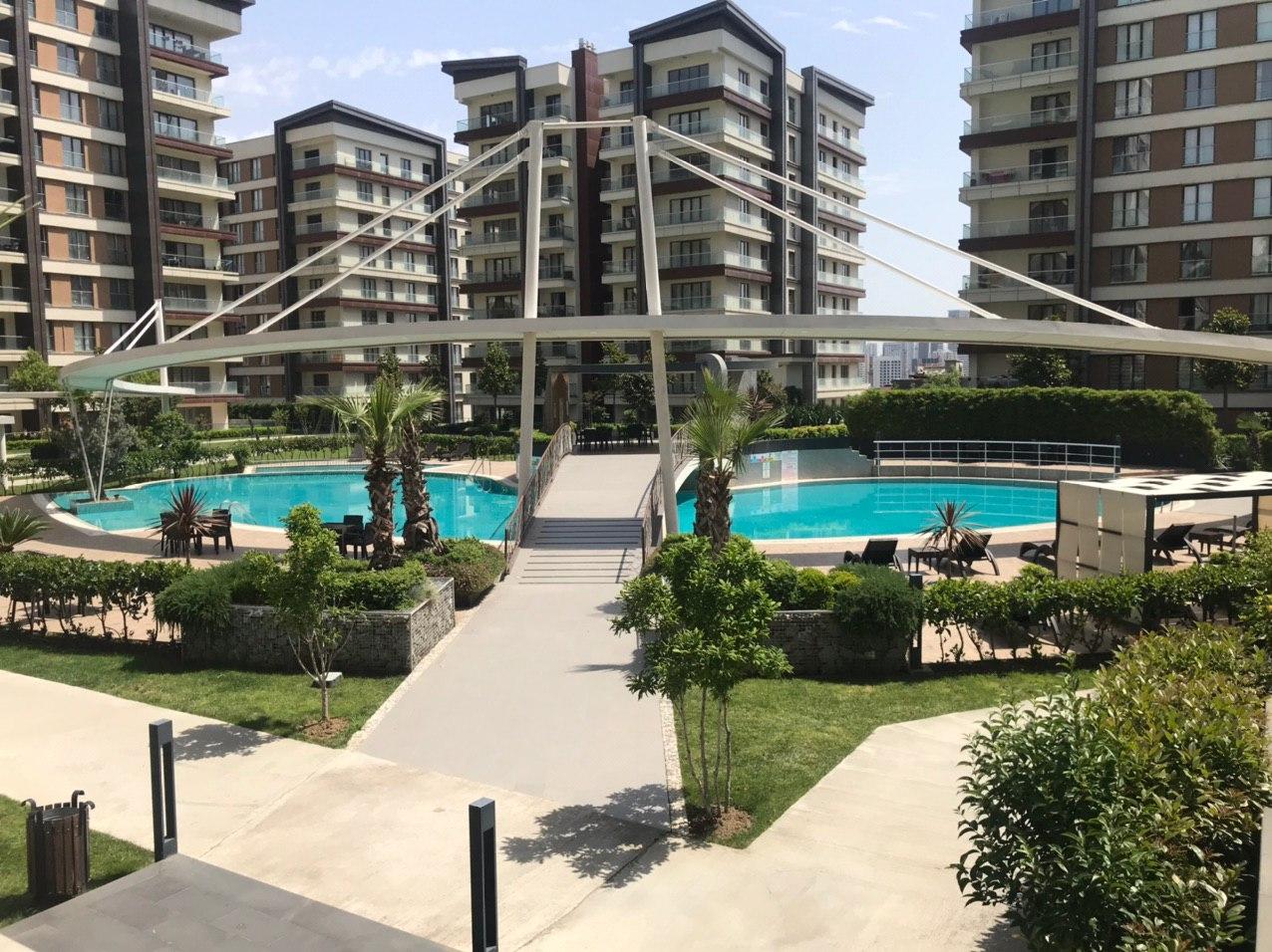 Апартаменты в жилом комплексе Стамбула - Фото 14