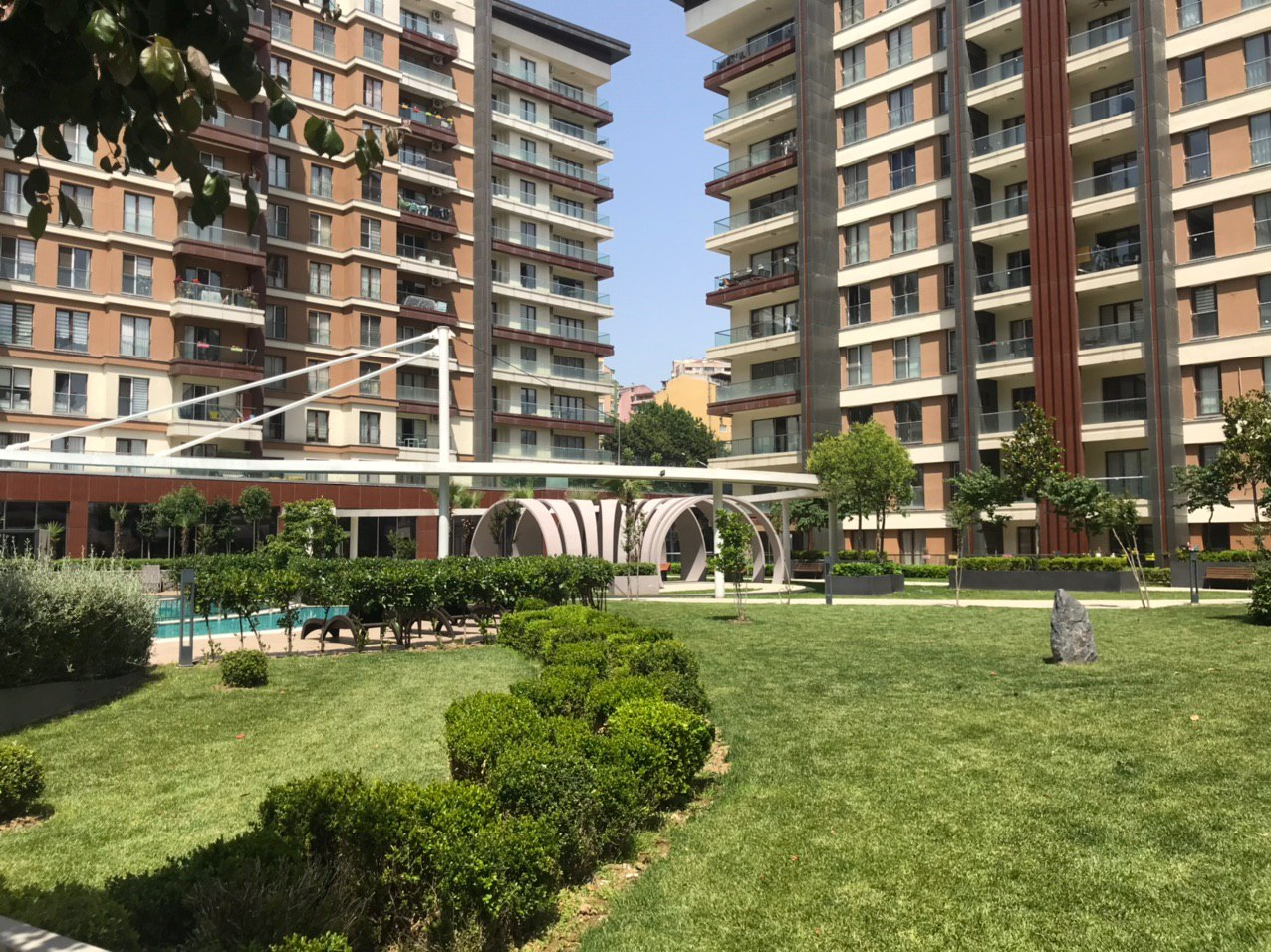 Апартаменты в жилом комплексе Стамбула - Фото 16