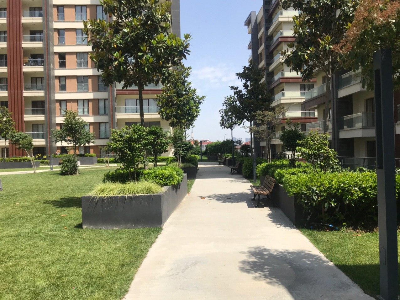 Апартаменты в жилом комплексе Стамбула - Фото 17